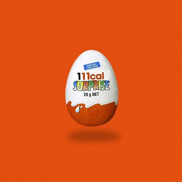 Web marketing: e se sostituissi i loghi più famosi con le calorie che contengono?